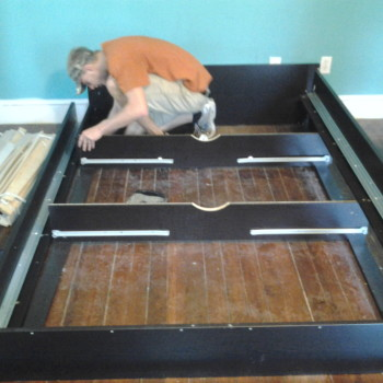 Assembling Bed Frame