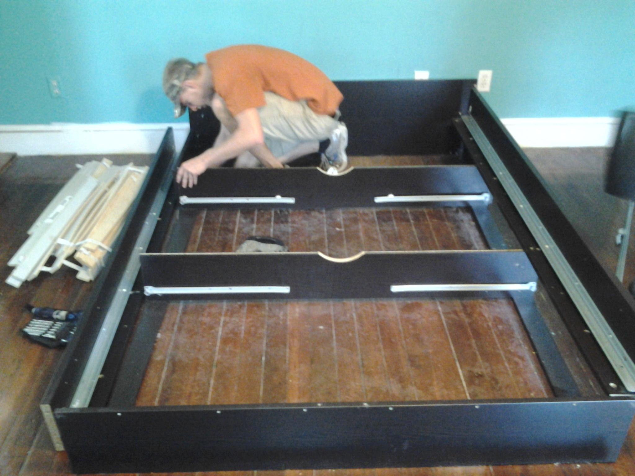 Assembling Bed Frame